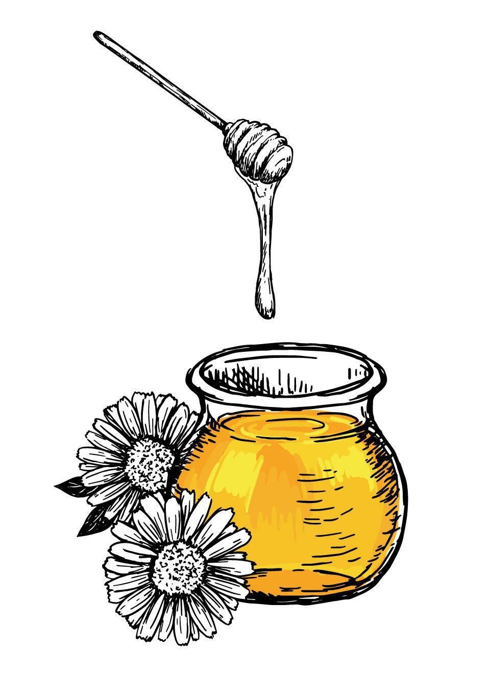 Miel 100% Pura producida en Madrid